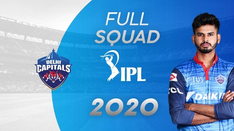 Delhi Capitals Squad & Complete List Of Player's