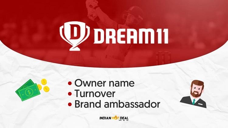 Dream11 Owner Name, Turnover & Brand Ambassador