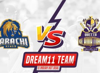 KAR vs QUE Dream11 Team Predictions 6th Match PSL 2020 (100% Winning Team)