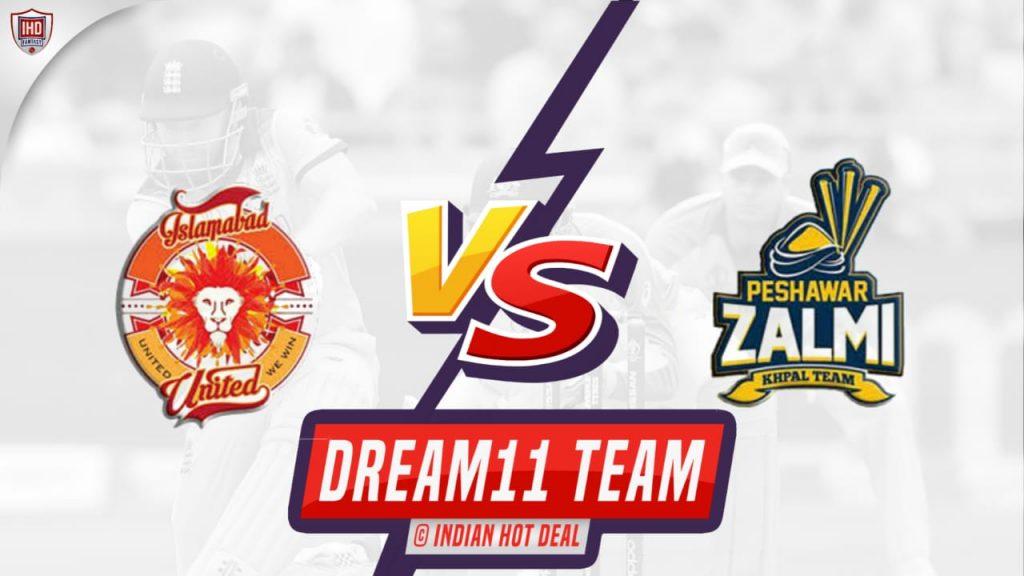 ISL vs PES Dream11 Team Prediction 26th Match PSL 2021 (100% Winning Team)