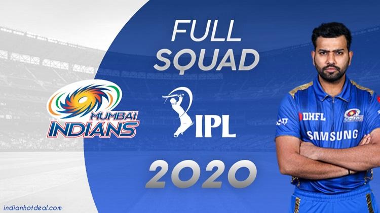 Mumbai Indians Full Squad IPL