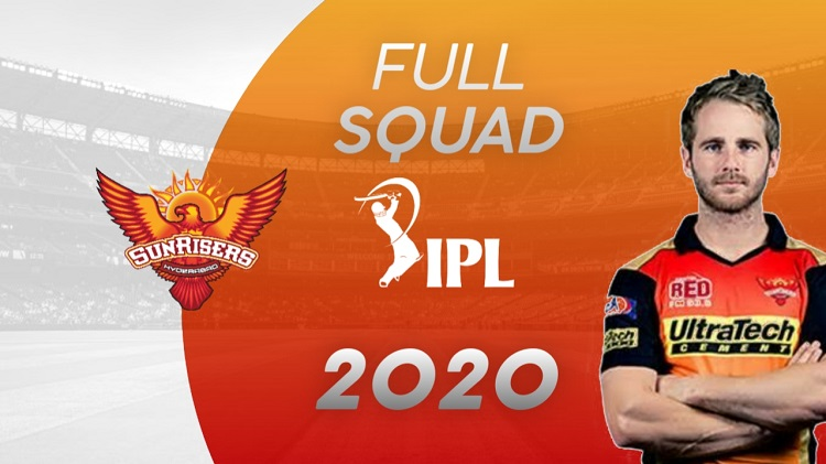 Sunrisers Hyderabad Squad & Complete List Of Player's
