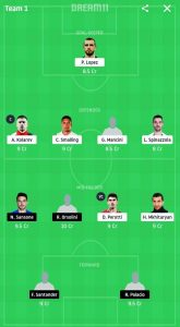 ROM VS BOL DREAM11 TEAM PREDICTION Today's Football Match.