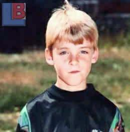David de gea  childhood pic