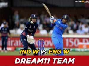 IND-W vs ENG-W Dream11 Team Predictions ICC Womens T20 World Cup 2020 1st Semi Final (100% Winning Teams)