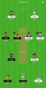 LAH vs QUE Dream11 Team Prediction For Small Leagues