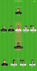 NZ vs AUS Dream11 Team for small league