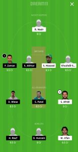 MUL vs LAH Dream11 Team Prediction For Grand Leagues