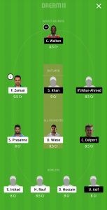 LAH vs KAR Dream11 Team Prediction For Grand League