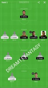 OLY VS WOL DREAM11 TEAM