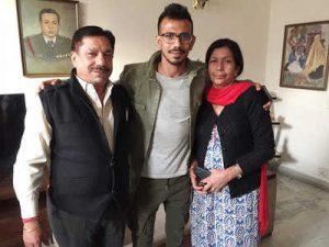Yuzvendra Chahal mom and dad