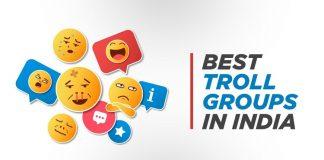 best trolls group in india