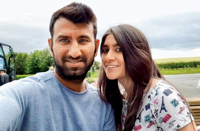 cheteshawar pujara wife