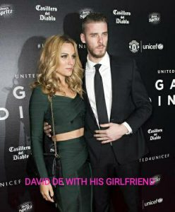 david de gea with his girlfriend