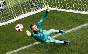 david gea saves goal