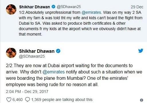 shikhar dhawan controversies
