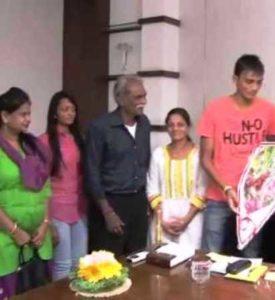Axar Patel family