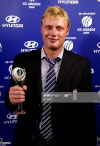 Awards won by Andrew flintoff