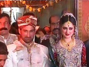 Sohail Tanvir with his wife