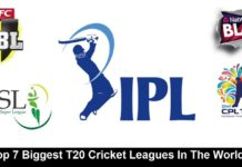 Top 7 Biggest T20 Cricket Leagues In The World