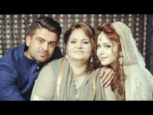 Ahmed Shahzad with his family