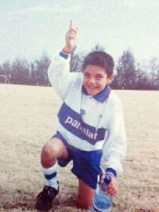 alexis sanchez childhood pic