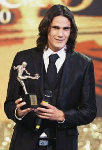 edinson won award
