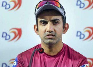 gautam gambhir indian cricketer