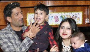 Sohail Tanvir with his family