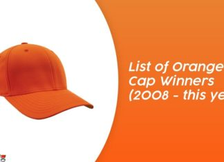 list of orange cap winners