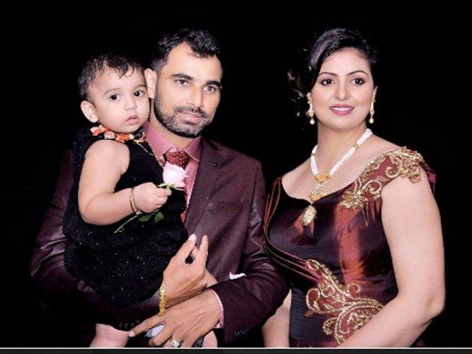 mohammed shami wife