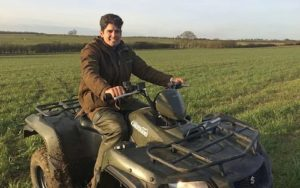 Alastair cook in the farm