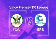 FCS v SPB Dream11 Team Predictions Vincy T10 League 2020 (100% Winning Team)
