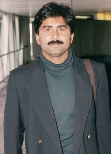 Javed Miandad physical appearance