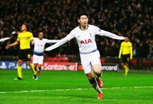 Son Heung-Min profile pic inplay