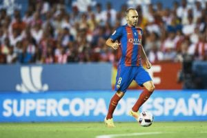andres iniesta in play image