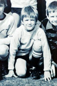 david beckham childhood pic