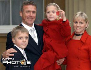 Alec Stewart Family & Religion