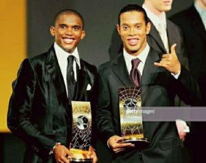 samuel eto awards