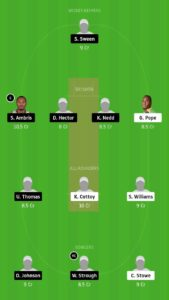 FCS v SPB Dream11 Team Prediction For Grand Leagues