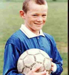 wayne rooney childhood