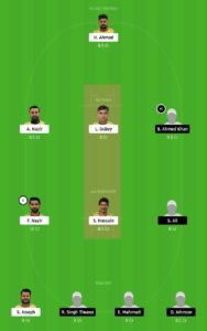 ZNCC vs WICC Dream11 Team for small league