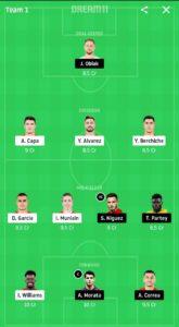 ATH VS ATL DREAM11 FOOTBALL TEAM
