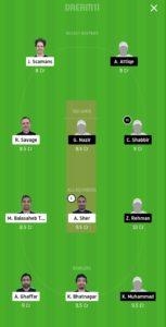 ECC vs GHC Dream11 Team for grand league