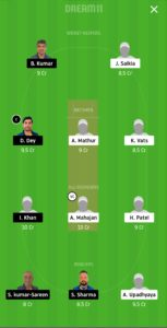 STO vs IND Dream11 Team for small league