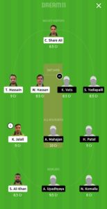 PF vs STO Dream11 Team for grand league