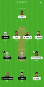 PF vs IND Dream11 Team for grand league
