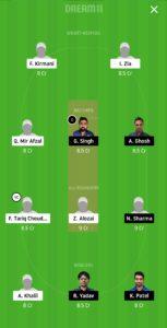 ALZ vs IND Dream11 Team for grand league