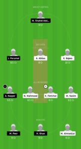 SGCC vs OLCC Dream11 Team for grand league
