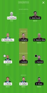 HCC vs SKK Dream11 Team for small league